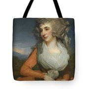 Portrait Of Mary Livius Tote Bag