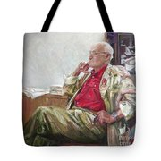 Portrait Of May Dancig Tote Bag