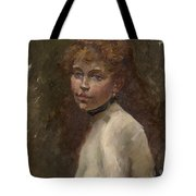 Portrait Of Mery Laurent Tote Bag