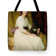 Portrait Of Miss Dorothy Dicksee  Tote Bag