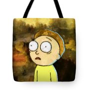 Portrait Of Morty Tote Bag