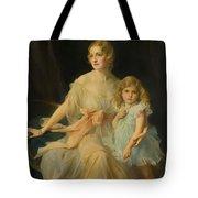 Portrait Of Mrs Claude  Tote Bag