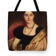Portrait Of Mrs Devauay Tote Bag