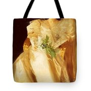 Portrait Of Mrs Eben Richards Anders Zorn Tote Bag
