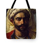 Portrait Of Mustapha Tote Bag