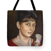 Portrait Of My Mother Early Sixties Tote Bag