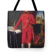 Portrait Of Napolan Bonaparte The First Council 1804 Tote Bag
