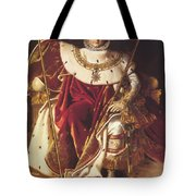 Portrait Of Napolan On The Imperial Throne 1806 Tote Bag