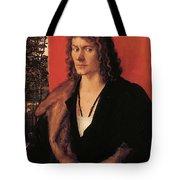 Portrait Of Oswolt Krel 1499 Tote Bag