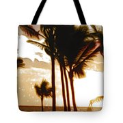 Portrait Of Paradise Tote Bag