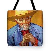 Portrait Of Patience Escalier Tote Bag by Vincent van Gogh