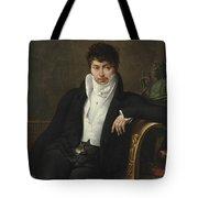 Portrait Of Pierre-jean-george Cabanis Tote Bag