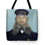 Portrait Of Postman Roulin Tote Bag by Vincent van Gogh