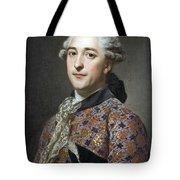 Portrait Of Prince Vladimir Golitsyn Borisovtj Tote Bag