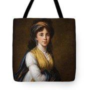 Portrait Of Princess Belozersky Lisabeth Louise Vige Le Brun Tote Bag