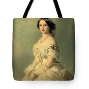 Portrait Of Princess Of Baden Tote Bag by Franz Xaver Winterhalter
