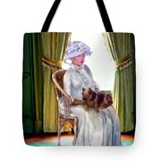 Portrait Of Prudence Tote Bag
