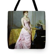 Portrait Of Rose Caron Tote Bag