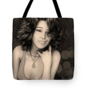 Portrait Of Rose Tote Bag