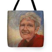 Portrait Of Ruth Sentelle Tote Bag