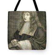 Portrait Of Sir Isaac Newton Tote Bag