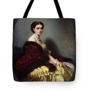 Portrait Of Sophia Petrovna Naryshkina Franz Xavier Winterhalter Tote Bag