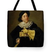 Portrait Of The Actor Tote Bag