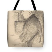 Portrait Of The Artists Mother Tote Bag