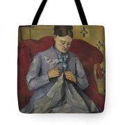 Portrait Of The Artist's Wife Tote Bag