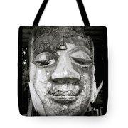 Portrait Of The Buddha Tote Bag