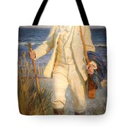 Portrait Of The Danish Painter Peder Severin Kroyer Tote Bag