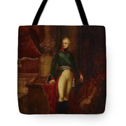 Portrait Of The Emperor Alexander Tote Bag