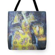 Portrait Of The Empress Dowager Cixi Tote Bag by Chinese School