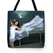 Portrait Of The Girl  Tote Bag