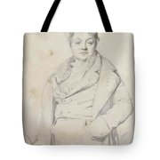 Portrait Of The Painter Charles Thevenin Director Of The Academy Of France In Rome Tote Bag