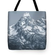 Portrait Of The Tetons Tote Bag