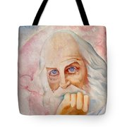 Portrait Of The Us-american Poet Walt Whitman Boris Grigoriev Tote Bag