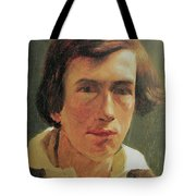 portrait of the young Arnold Bocklin Tote Bag