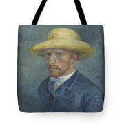 Portrait Of Theo Van Gogh Paris, Summer 1887 Vincent Van Gogh 1853  1890 Tote Bag