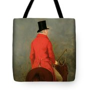 Portrait Of Thomas Cholmondeley Tote Bag by Henry Calvert