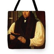 Portrait Of Thomas Cranmer Tote Bag
