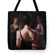 Portrait Of Two Souls Tote Bag