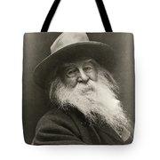 Portrait Of Walt Whitman Tote Bag