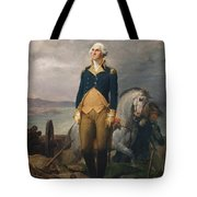 Portrait Of Washington Tote Bag