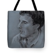 Portrait Of Young Man 19 Tote Bag
