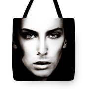 Portrait Of Young Man Tote Bag
