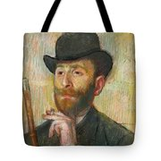 Portrait Of Zacherie Zacharian Tote Bag