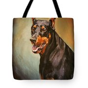 Portrait Of Zeus Tote Bag