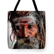 Portrait On The Ganges Tote Bag