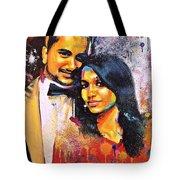 Portrait Pop Art Tote Bag